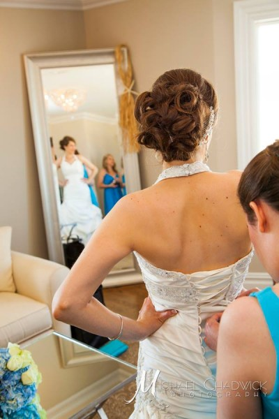 Bride Getting Ready New Jersey Shore Wedding Venue