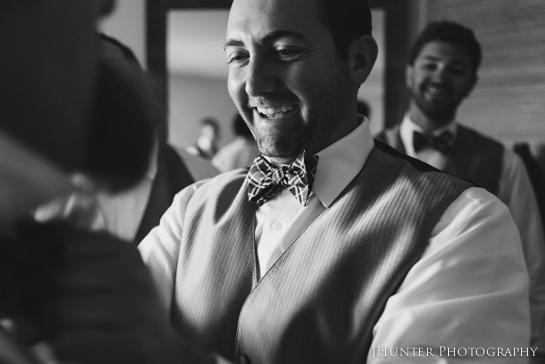 Groom Getting Ready Hyatt Key West Wedding