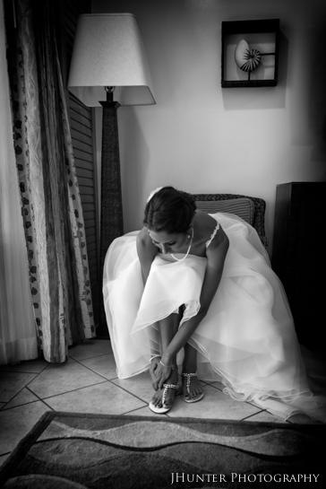 Bridal Pose - Hyatt Key West Wedding