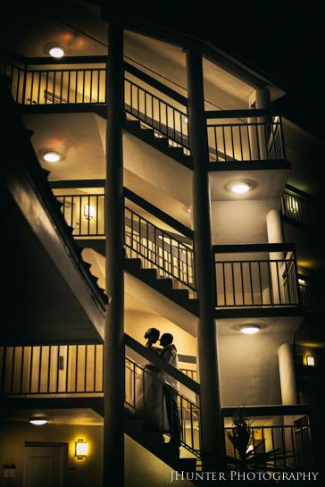 Wedding Kiss - Hyatt Key West