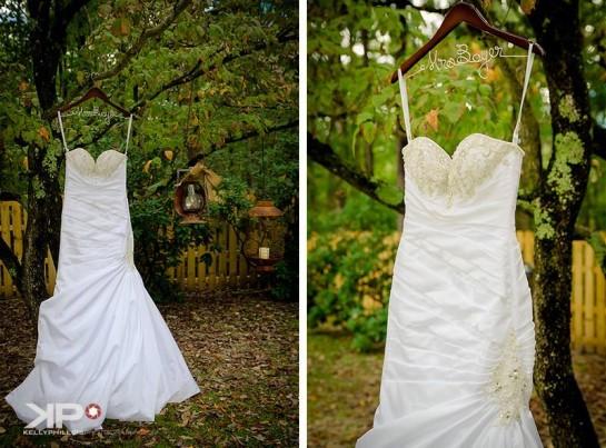New Jersey Vineyard Wedding Dress