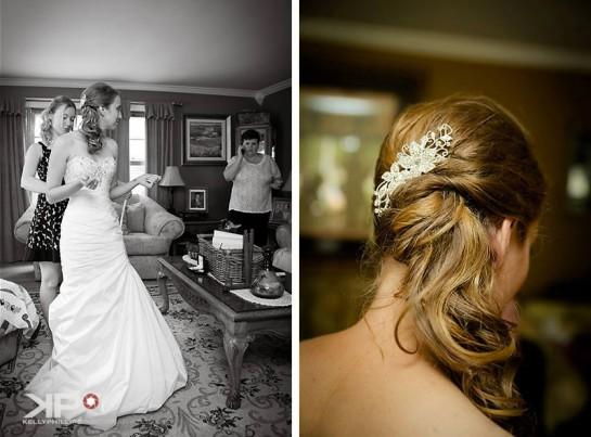 Bride Getting Ready New Jersey Wedding