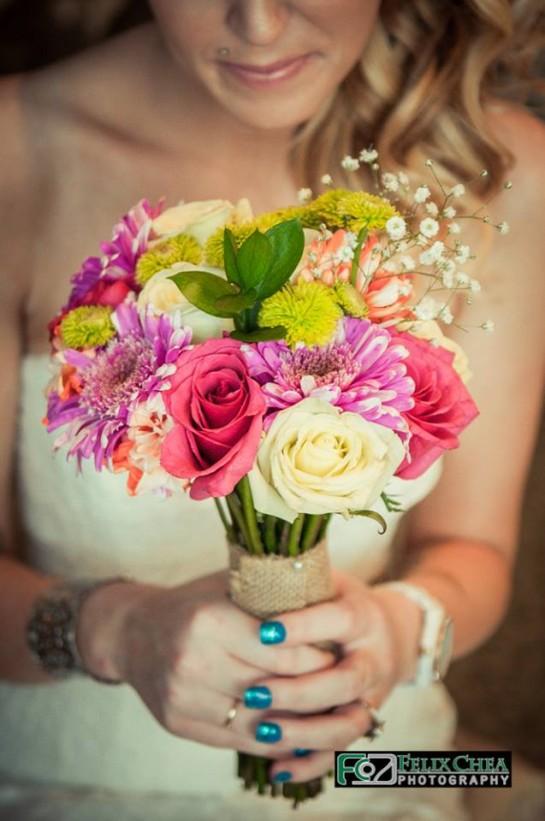 bouquet pennsylvania wedding
