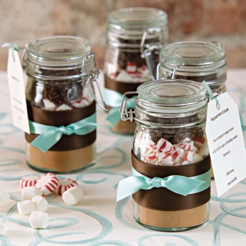 Hot Chocolate Wedding Favors