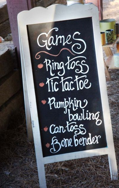 Wedding Games Sign