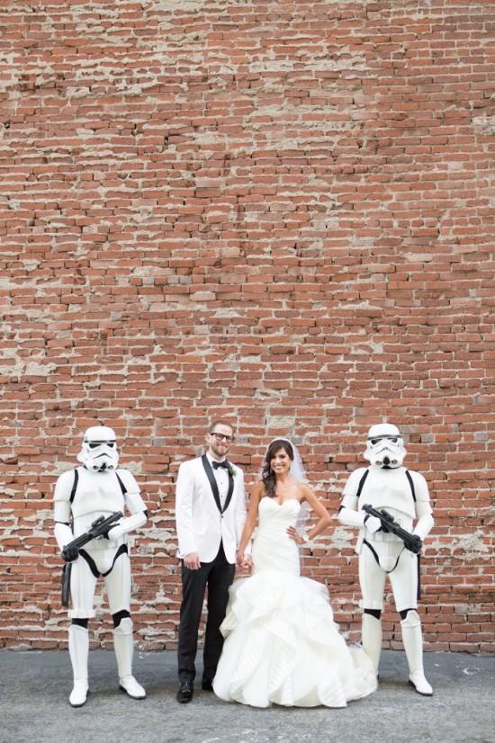 Star Wars Themed Wedding