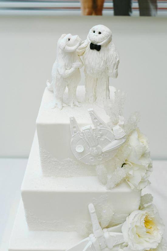 Tauntaun and Wompa on Cake