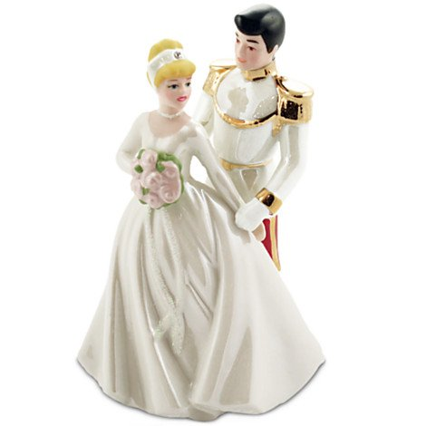 Cinderella Prince Charming Cake Topper