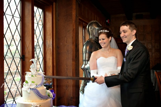 Cutting Cake with Prince Charming's Sword