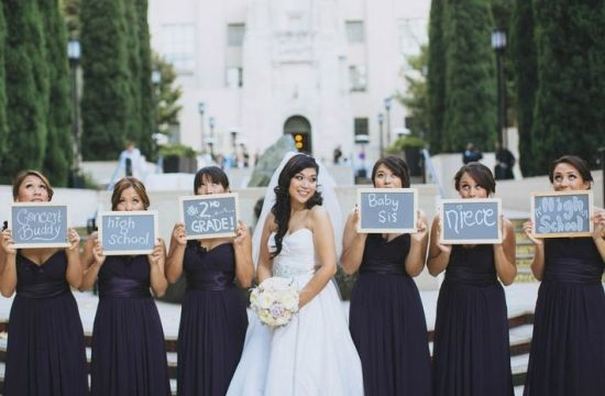 Share how you know the bride