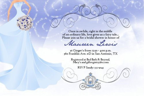Fairy Tale Wedding Invitations