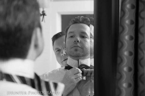 Groom at Wedding at Old Town Manor Key West Florida