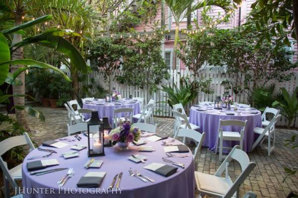 Wedding Reception at Old Town Manor Key West