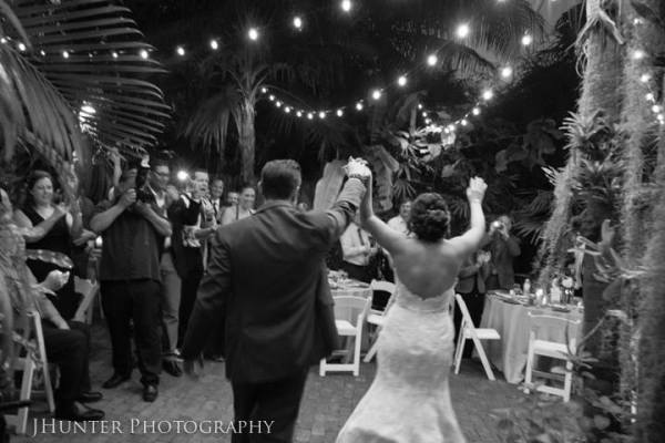 Bride and Groom Entrance Key West Wedding