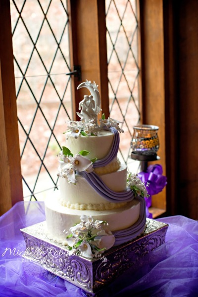 Fairy Tale Themed Wedding Cake