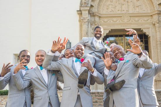 Groomsmen Wedding Party Photo Idea