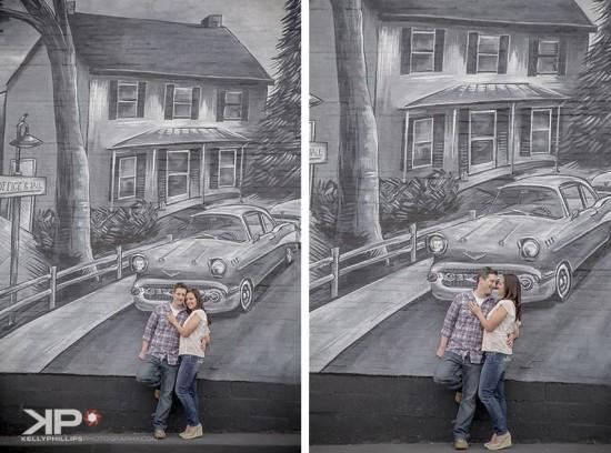 Bel Air Engagement Photos - Bel Air Murals