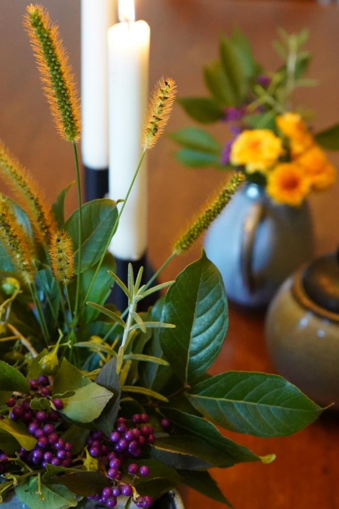 Simple Fall Decor Flowers