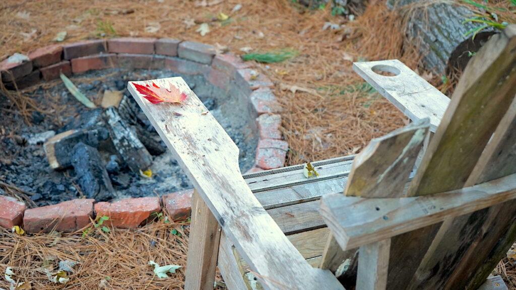 Backyard Fire Pit Brick DIY
