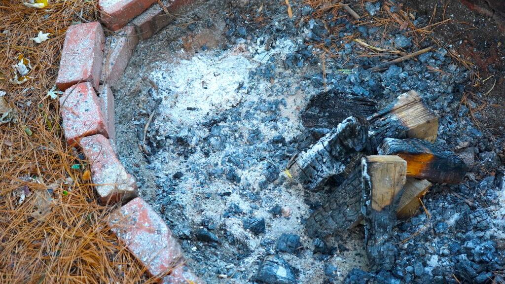 Brick Fire Pit Homemade