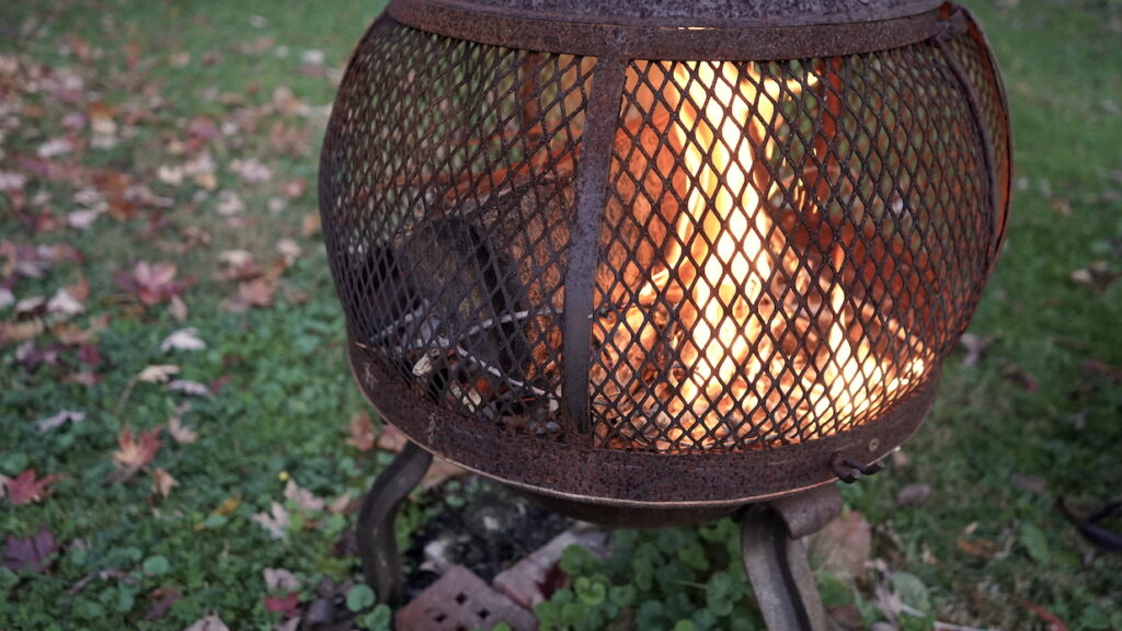 Wood Burning Chimnea