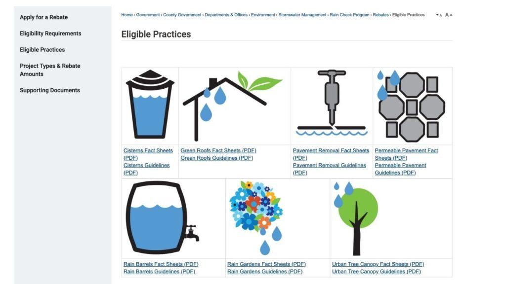 Greening your old house rain barrel rebates