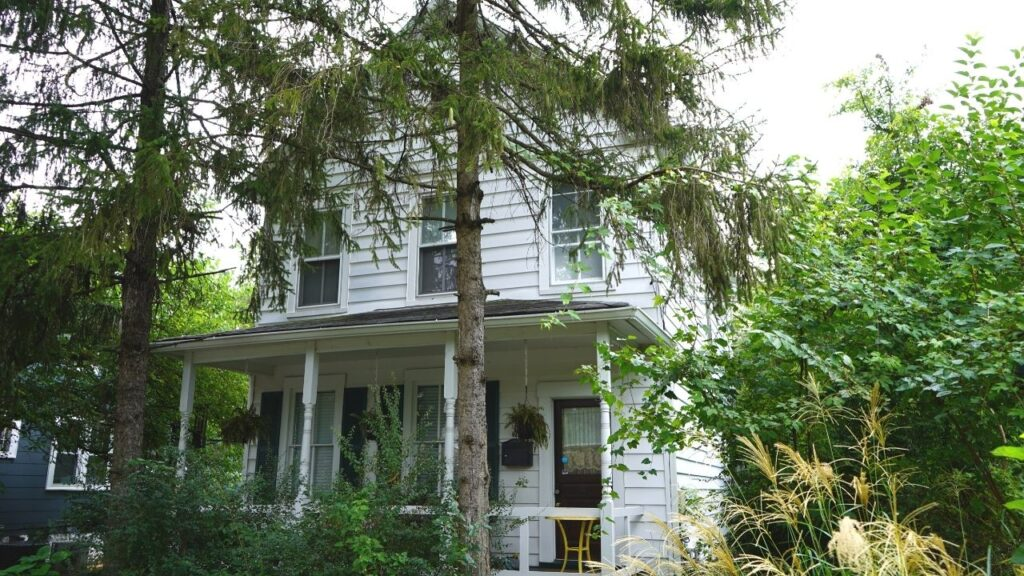Folk Victorian American House Types
