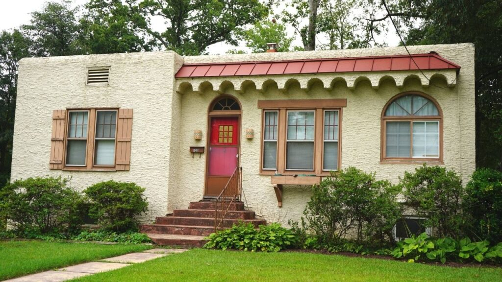 Spanish Colonial American House Style