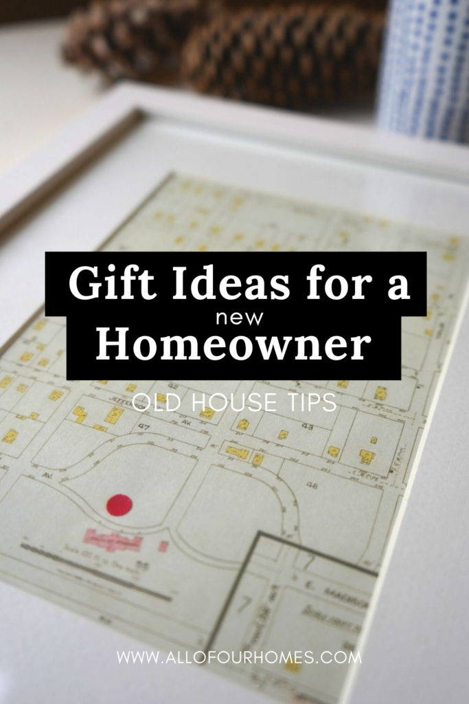 Gifts for a new homeowner