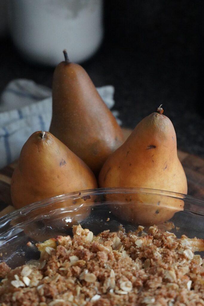 Pear Fruit Crisp