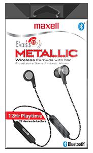 Écouteurs sans fil Bass 13 Metallic