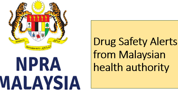 Drug Safety Alerts from Malaysian health authority