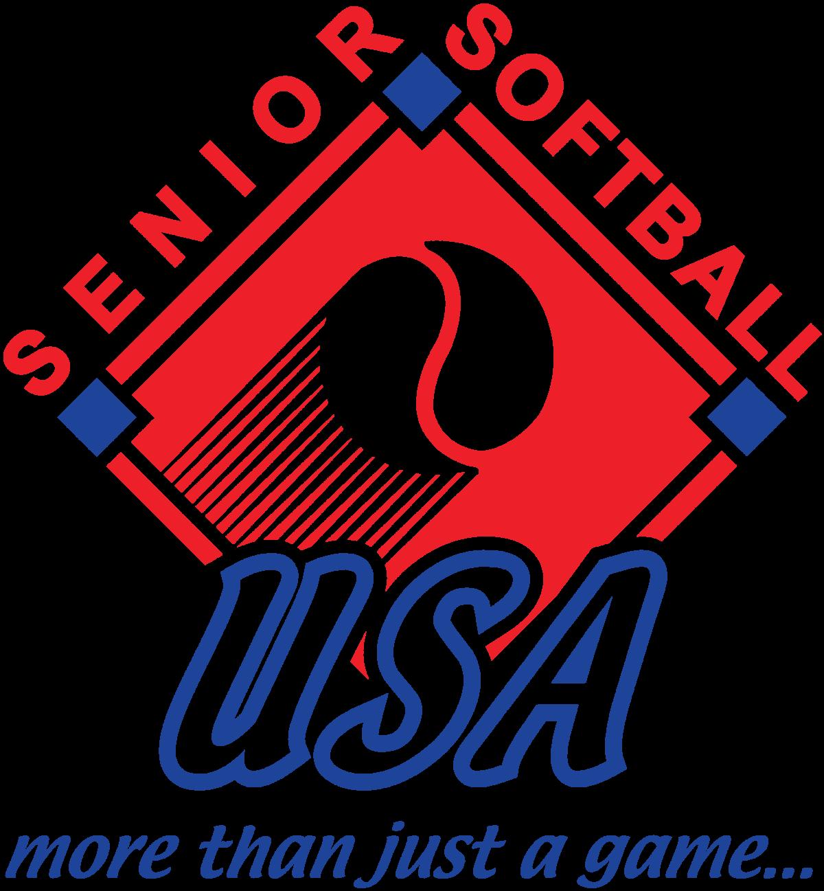 Senio Softball USA logo