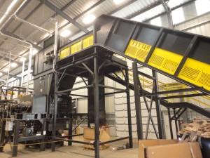 EG Metals In-feed Conveyor