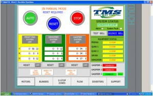 Typical Titus Touch Screen Control Screens