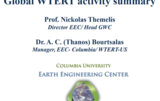 2016 Global WTERT Activity Summary