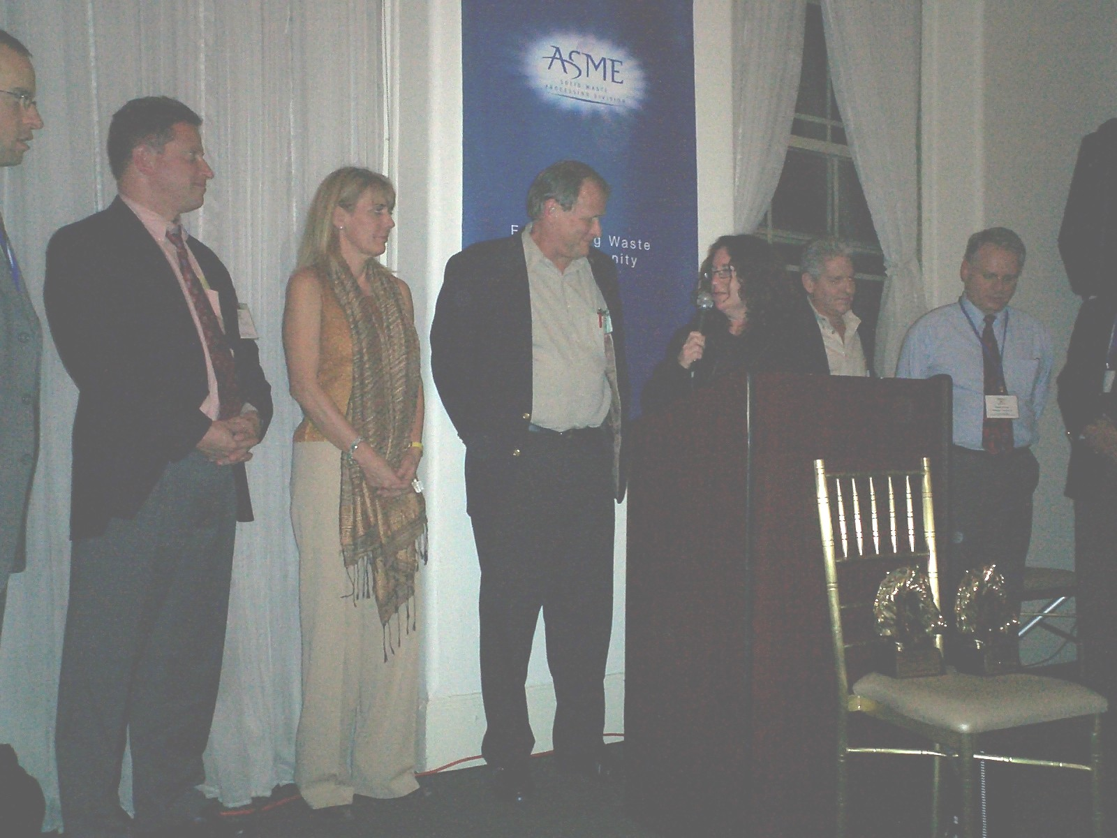 2005 WTERT Service Award