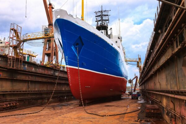 critical period in dry docking