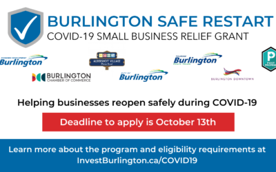 Team Burlington Announces the Burlington Safe Restart Program