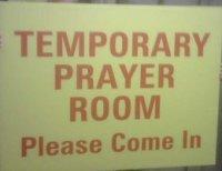 Temporary Prayer