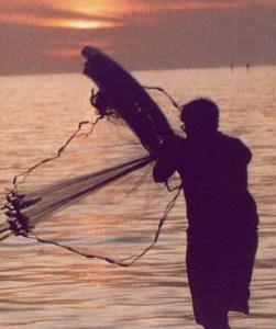 Casting nets