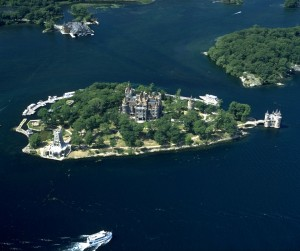 Heart Island and Boldt Castle (Click picture to enlarge)