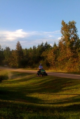 mowing 2
