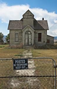 Church keep out