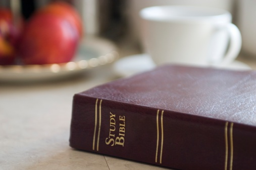 Bible on Table