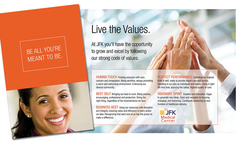 Brochure for JFK Medical Center