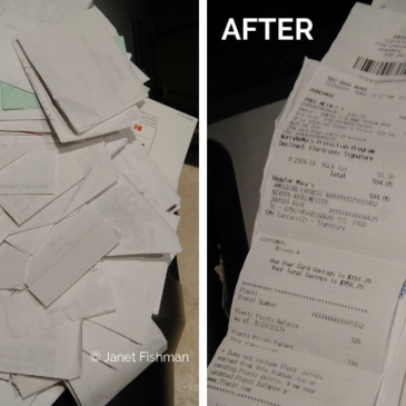 Receipts – How To Organize Those Pesky Pieces Of Paper