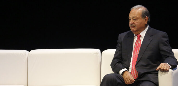 CARLOS SLIM TOPS FORBES' LIST OF MEXICO'S RICHEST PEOPLE