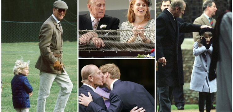 PRINCE PHILIP'S SWEETEST GRANDPA AND GREAT-GRANDFATHER MOMENTS