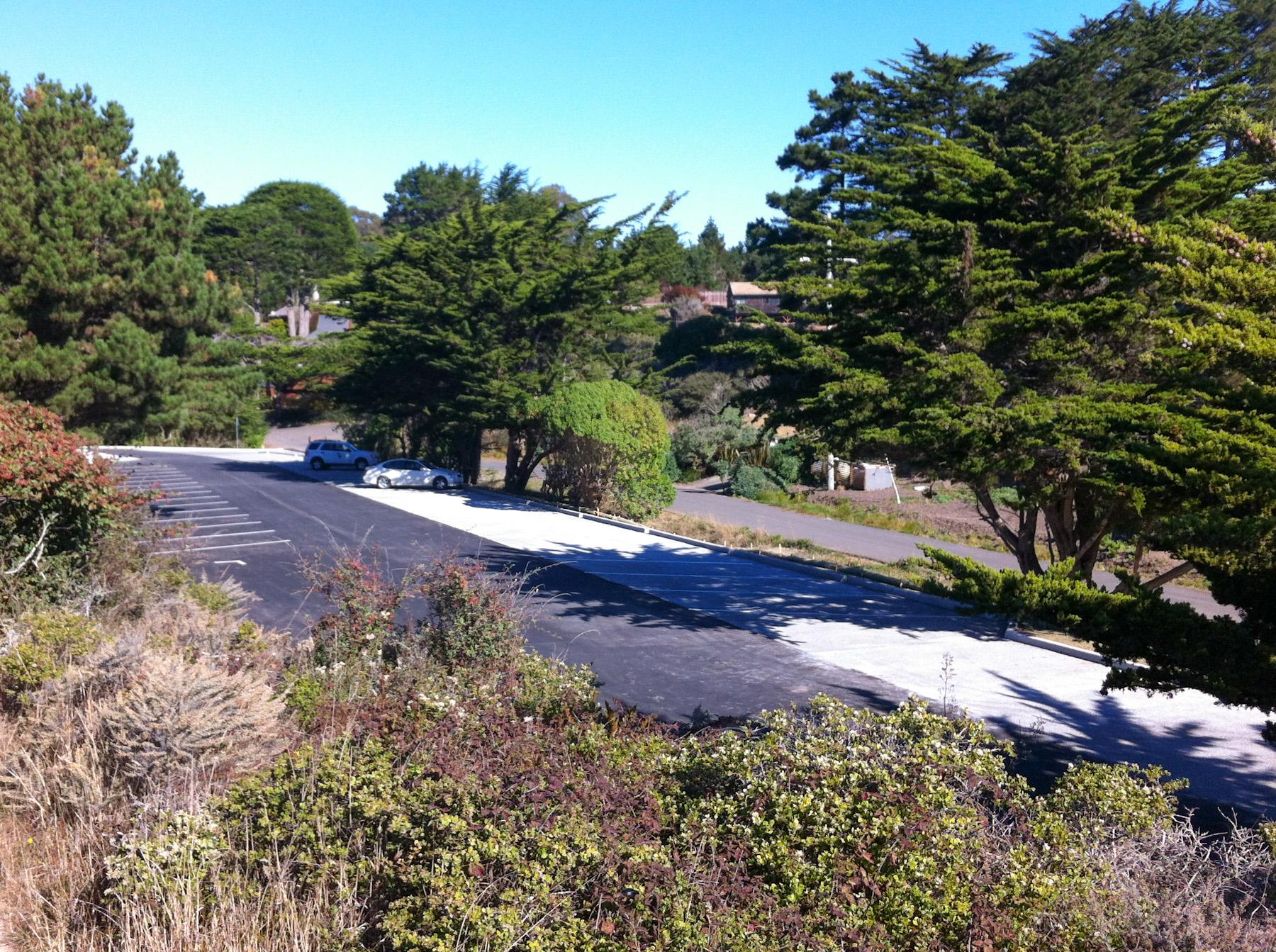 Agate Beach Parking Lot